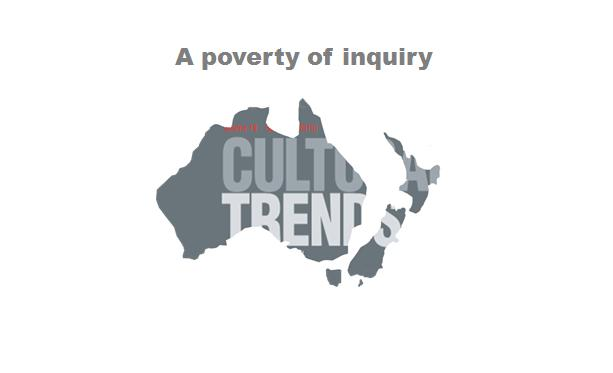 Poverty of inquiry